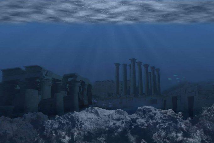 Atlantida, de la mărire la decădere