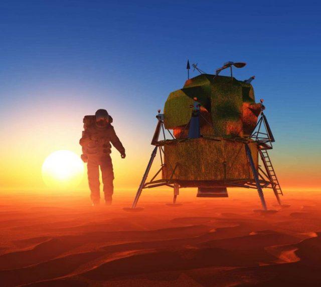 Bazele secrete de pe Lună şi Marte