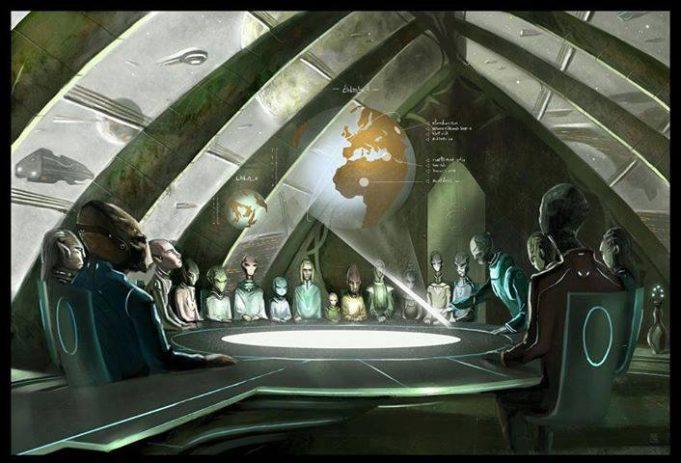 Zeii şi războaiele lor pe Pământ