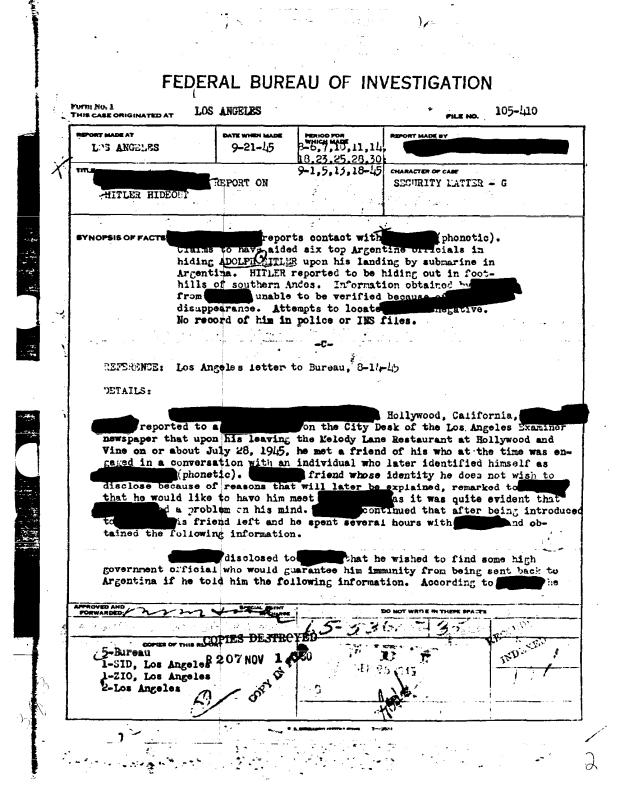 FBI-Hitler-document