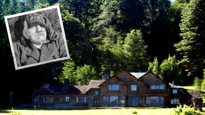 Aceasta este casa unde se spune că ar fi trăit Hitler, localizată lângă Lacul Nahuel Huapi, în Patagonia, Argentina, un paradis izolat plin de refugiați nazişti.