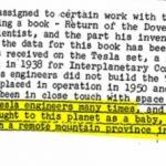 Nikola Tesla FBI Document Declasificat