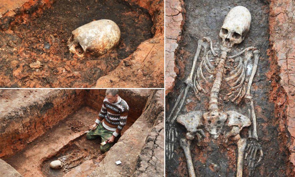 Arkaim schelete